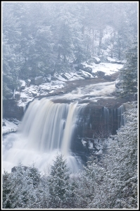 Blackwater Falls Winter Overlook
